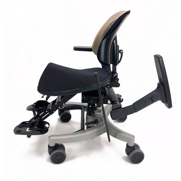 Krabat Jockey Desk - individual footrest