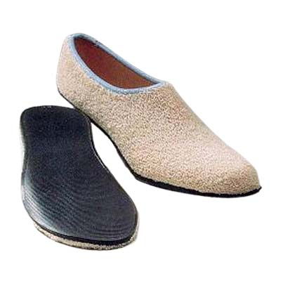 Care-Steps Cotton/Stretch Yarn II Slippers Adult Size 5 to 6