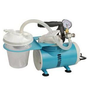 """Allied Schuco Portable Aspirators w/800cc Canister 14""""L x 7"""" W x 10"""" H Tubing with Filter"""