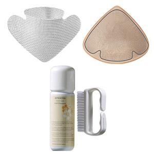 Amoena Contact Multi 3S Breast Form Pad Kit, Size 3/4, Clear