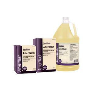 Ameriderm AmeriWash Antimicrobial Lotion Soap with Triclosan, 1000 mL