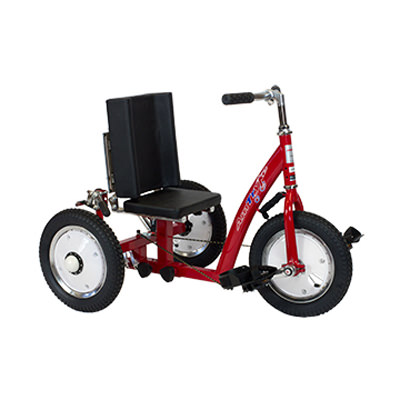 Amtryke 0150 tricycle with snappy seat system