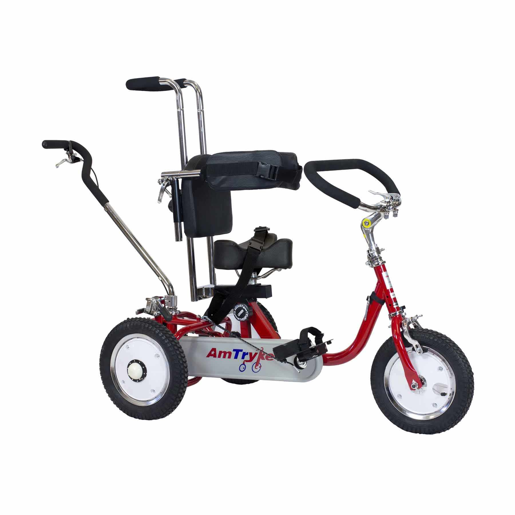 Amtryke ProSeries 1412 tricycle with 1400 seating system