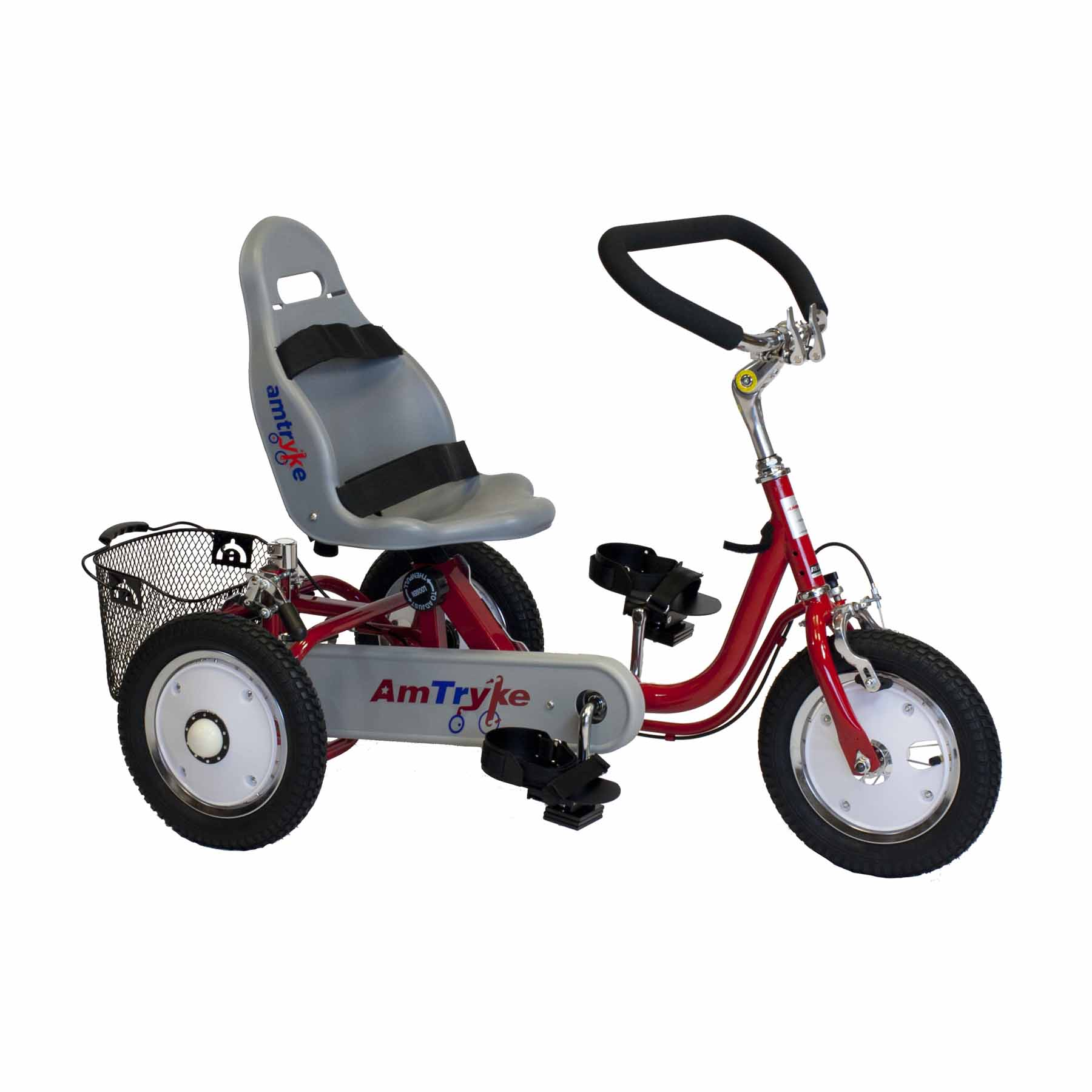 Amtryke Proseries 1412 Tricycle With Bucket Seat | Amtryke Tricycles