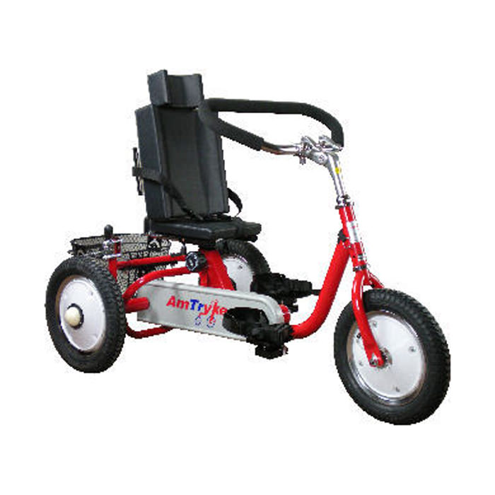 Amtryke ProSeries 1412 tricycle with snappy seat system