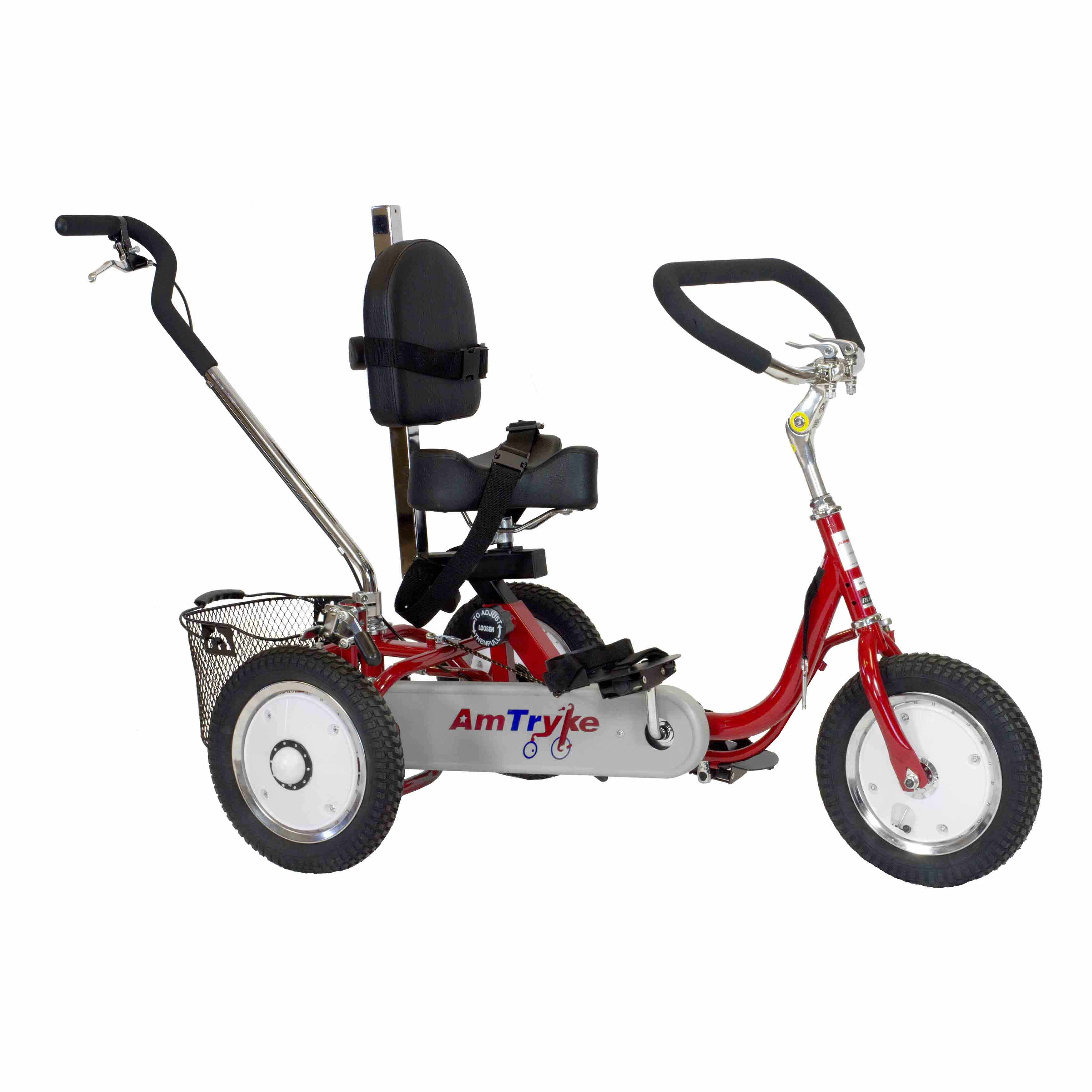 Amtryke ProSeries 1412 tricycle with 1600 seat system