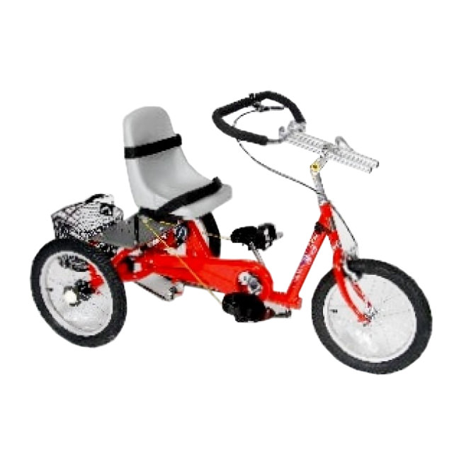 Amtryke ProSeries 1416 tricycle with bucket seat