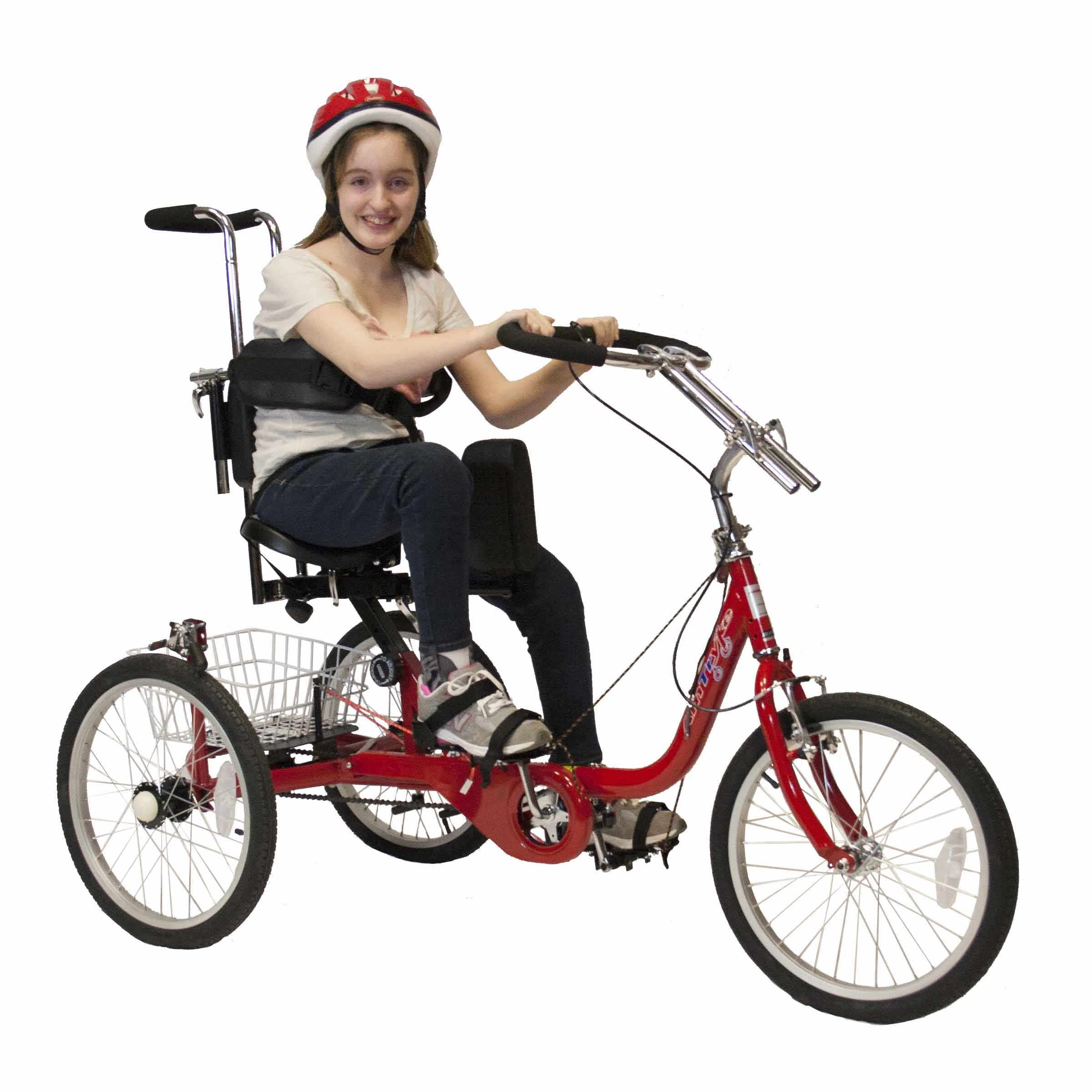 ProSeries 1416 tricycle with 1400 seating system