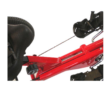 Amtryke 1416 tricycle with 1400 seating system