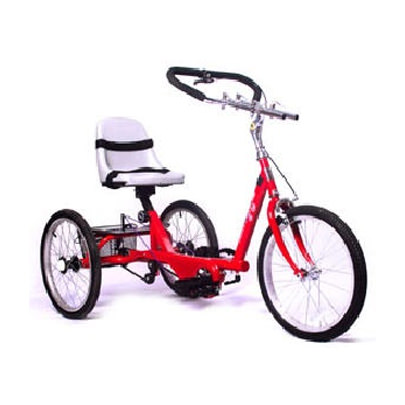 Amtryke ProSeries 1420 tricycle with bucket seat