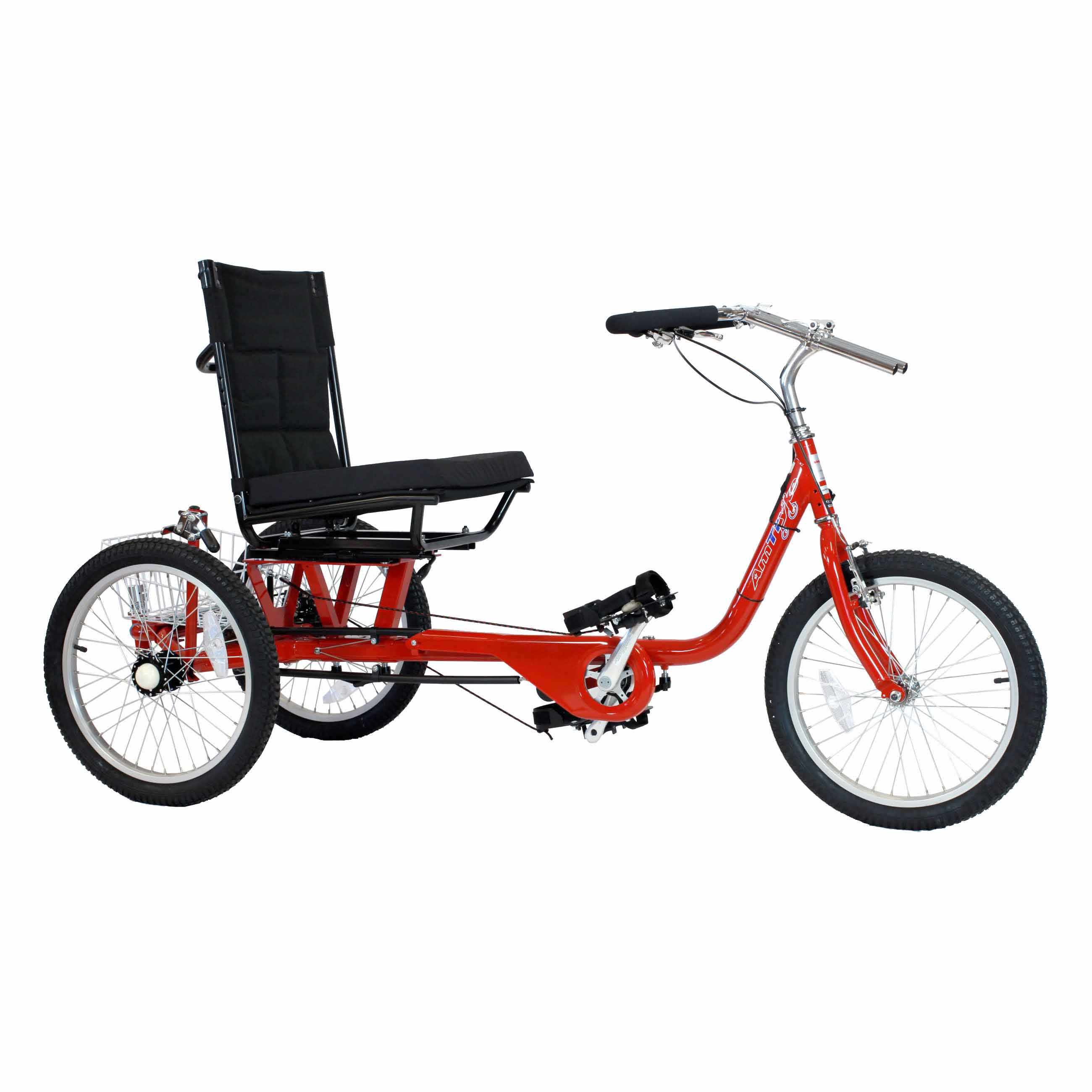 Amtryke ProSeries 1420XL with wheelchair seating system