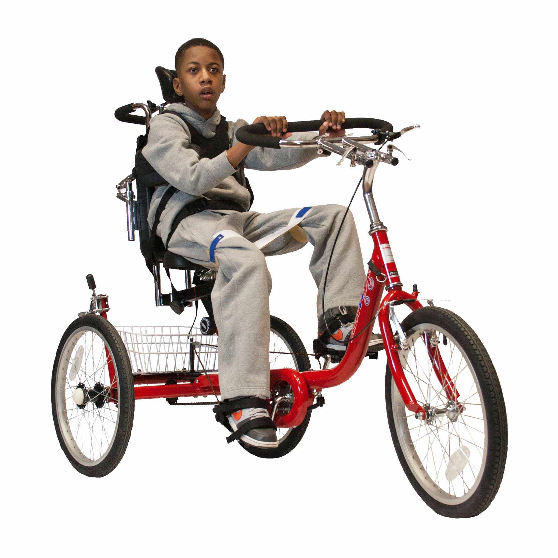 Amtryke ProSeries 1420XL tricycle with 1400 seating system