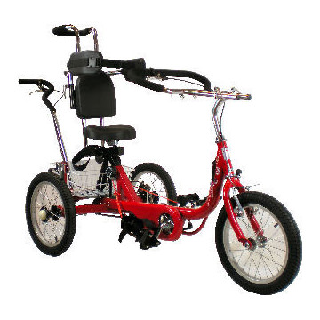 ProSeries 1420 tricycle with 1400 seating system