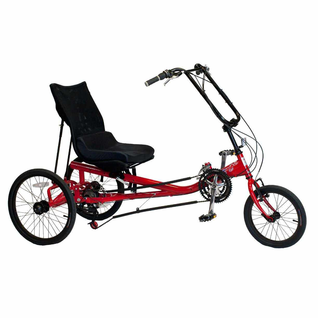 Amtryke JT-2000 tricycle with recumbent seat