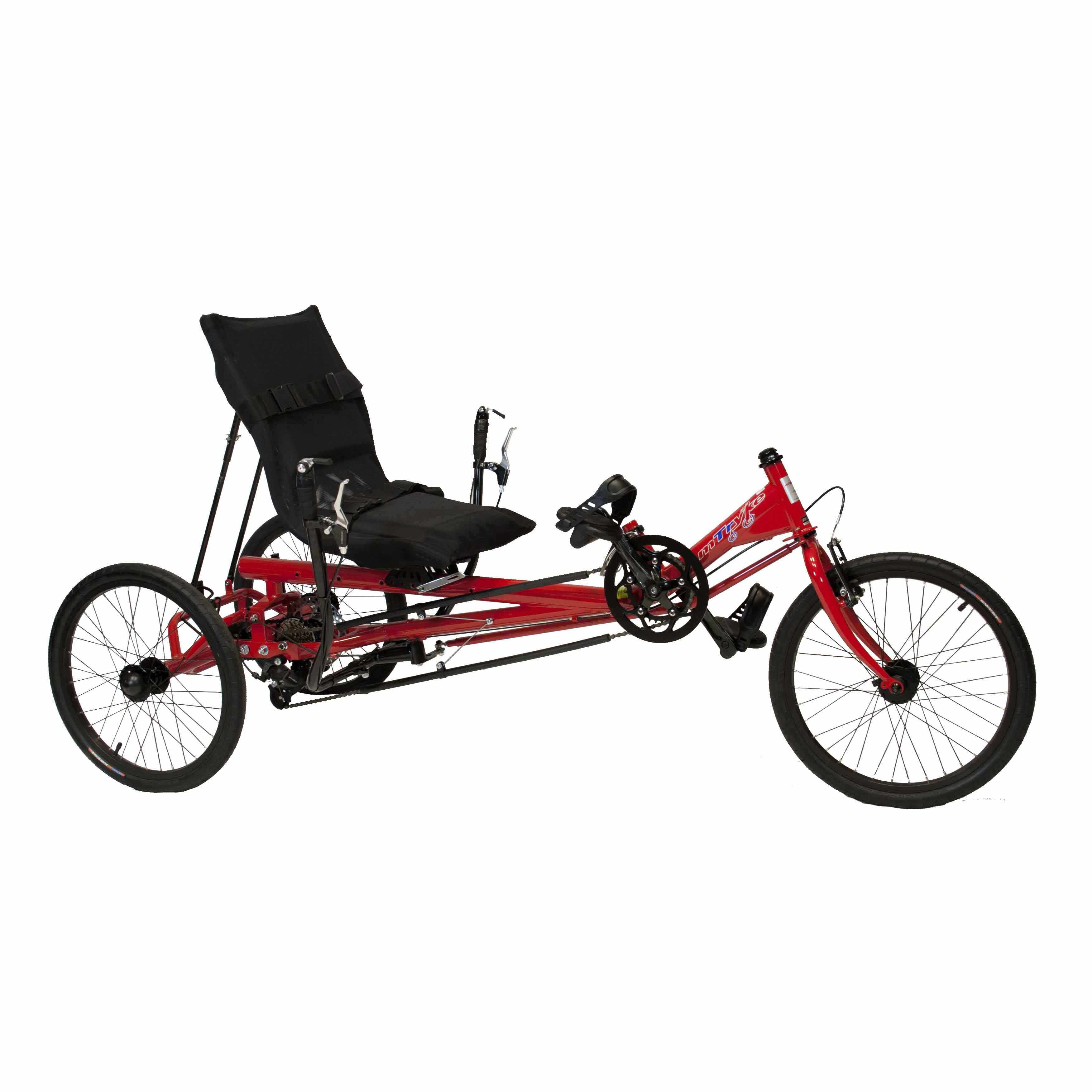 Amtryke Jt-2300 Uss Tricycle With Recumbent Seat | Amtryke Tricycles