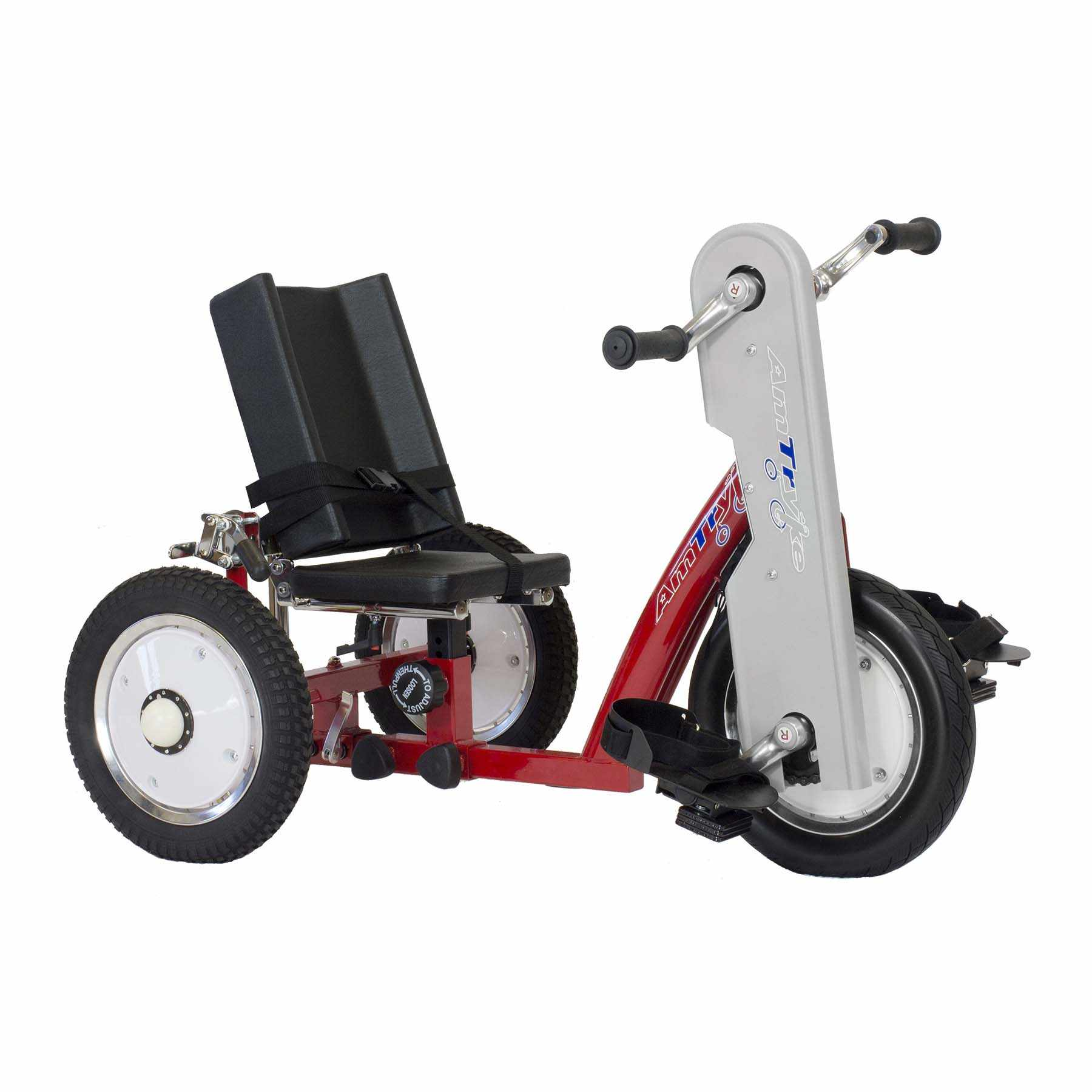 Amtryke AM-10 hand/foot tricycle with snappy seat