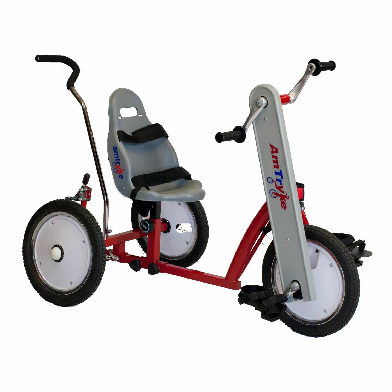 Amtryke AM-12 tricycle with bucket seat