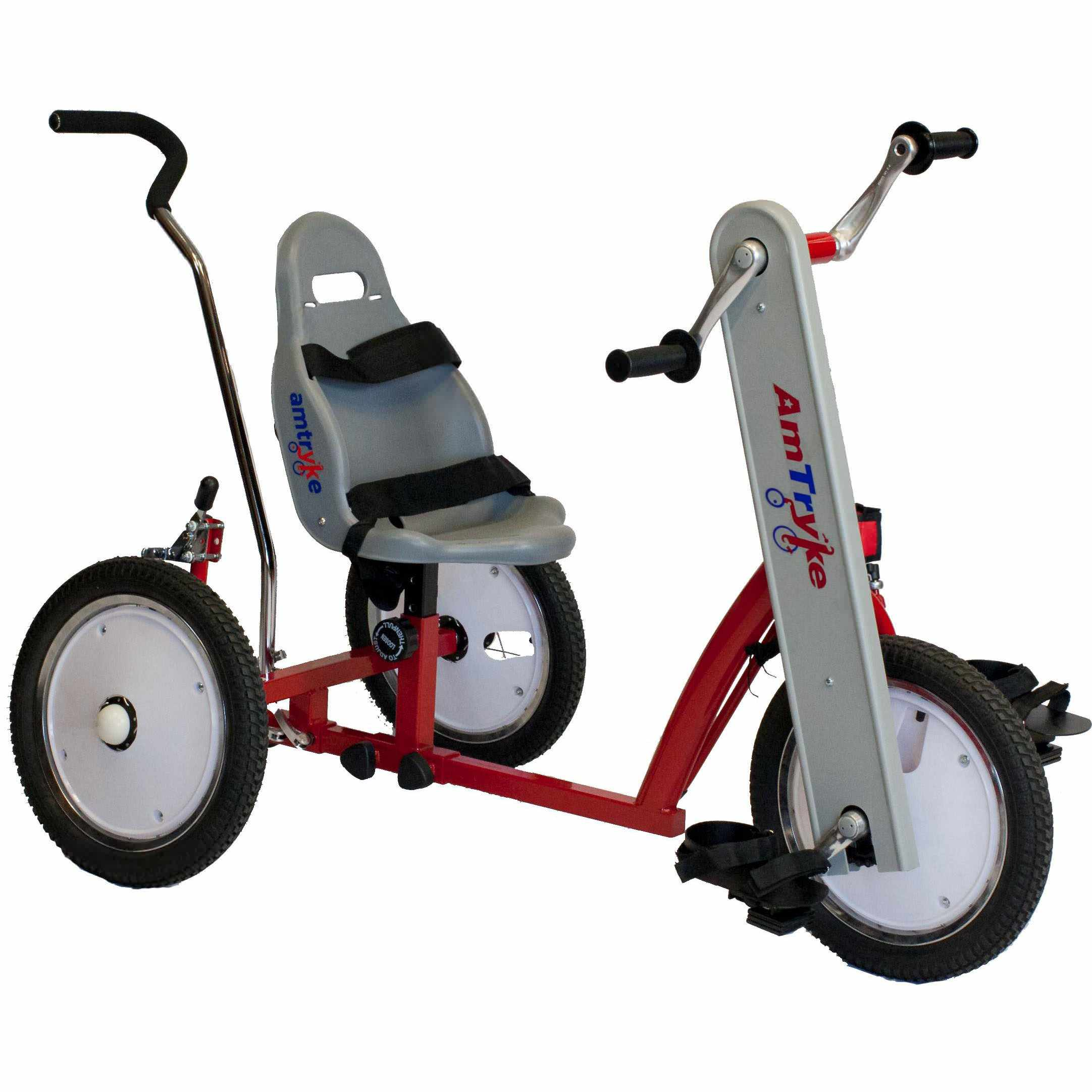 Amtryke AM-12 tricycle with 1600 seating system