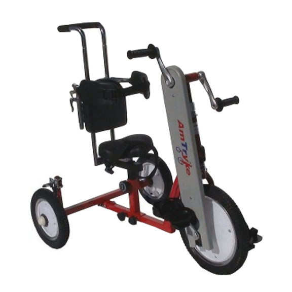 Amtryke AM-16 tricycle with 1400 seating system
