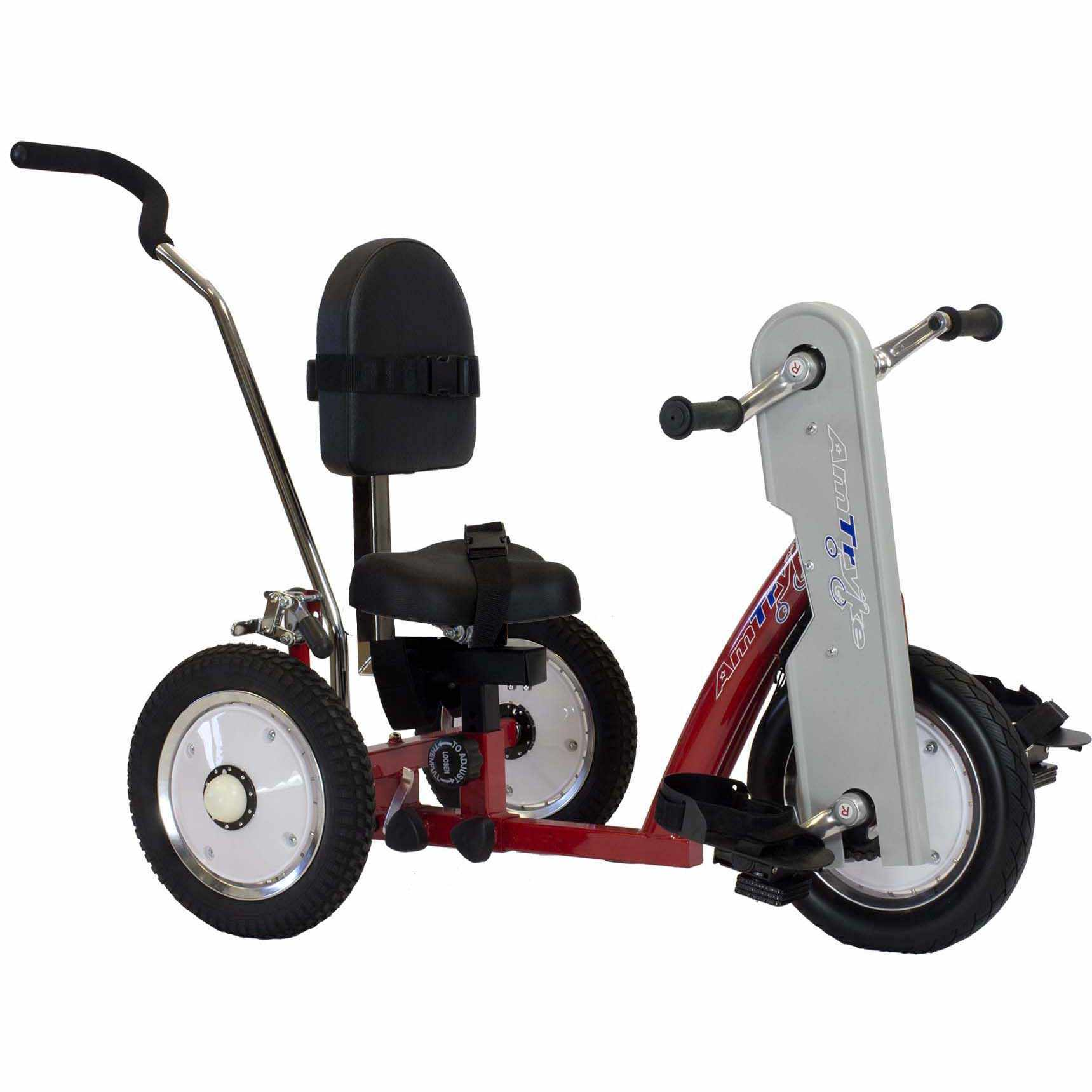 Amtryke AM-16 tricycle with 1600 seating system
