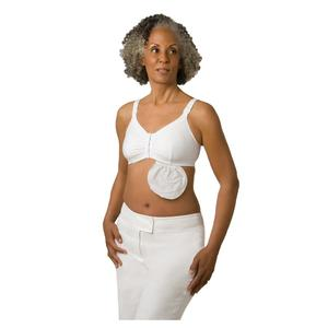 Amoena Hannah Post-Surgical Bra Kit, Small, Size A/B, White