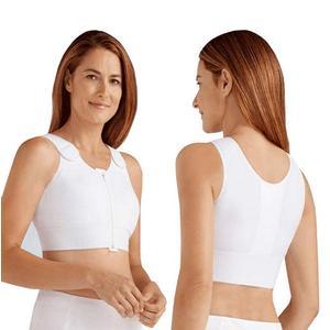 Amoena Patricia Post-Surgical Compression Vest, Size 36(B/C), White