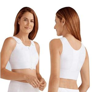 Amoena Patricia Post-Surgical Compression Vest, Size 38(B/C), White