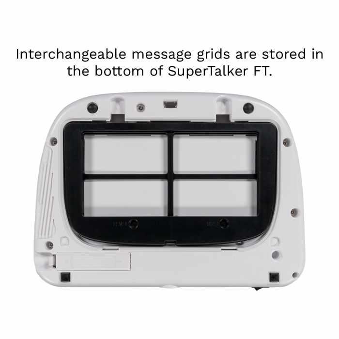 Ablenet SuperTalker FT back view