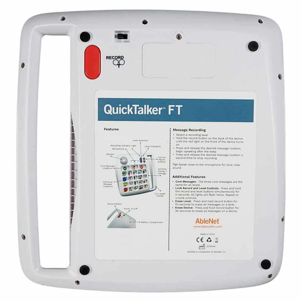 QuickTalker FT 23 rear view