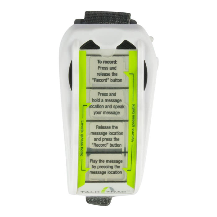 TalkTrac wearable communicator