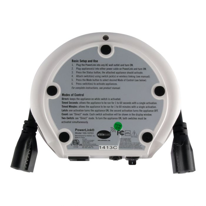 PowerLink4 activity device - Backside