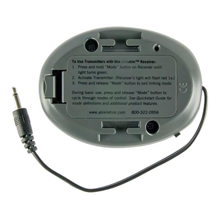 Ablenet original wireless receiver back side