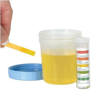 Apothecary Products Universal pH Test Strip with Four Colored Squares