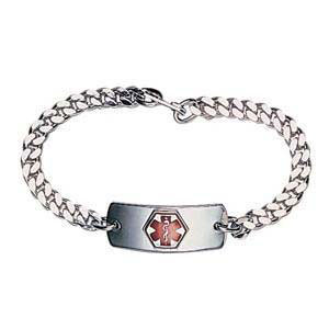 Apothecary Products Blank Med ID Bracelet 8-1/2'' L