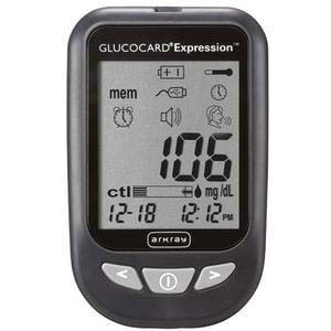 Arkray Glucocard Expression Blood Glucose Meter Kit