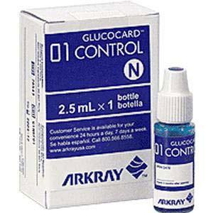Arkray Glucocard 01 Blood Glucose Control Solution Normal Level
