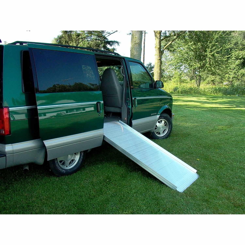 Alumilite Curb Ramp | Solid Wheelchair Ramp