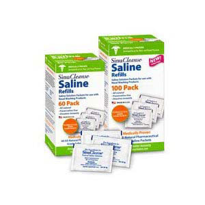 Ascent SinuCleanse Saline Refill All-Natural
