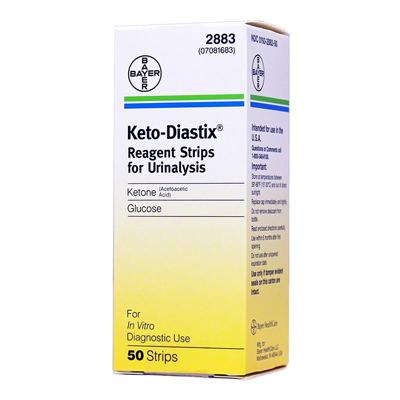 Keto-Diastix Urine Reagent Strip, Ketone