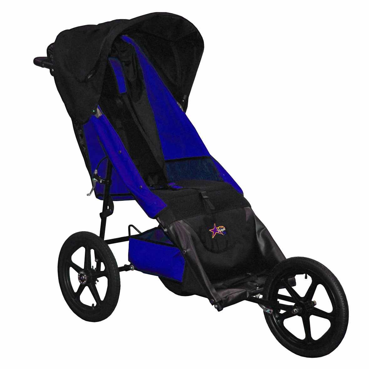 Adaptive star axiom endeavour indoor/outdoor mobility push chair