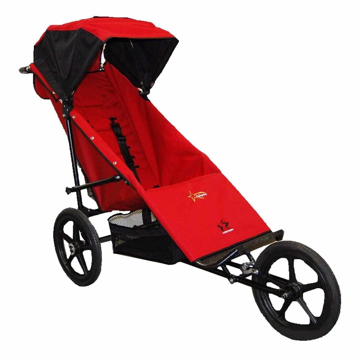 Adaptive star phoenix push chair - Red