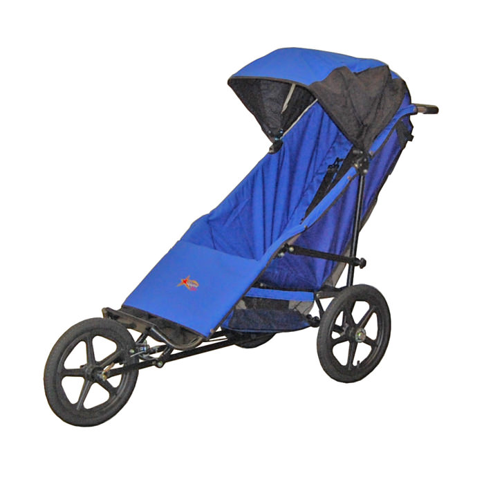 Adaptive star phoenix stroller - Royal Blue