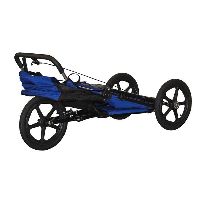 Adaptive star phoenix folded with wheels