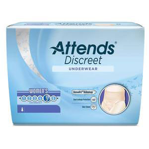 Attends Discreet Underwear for Women