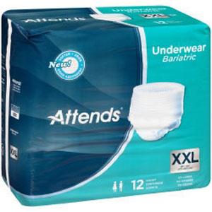 Attends Bariatric Heavy Absorbency Underwear