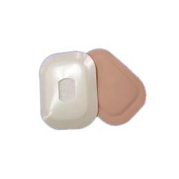 "Austin Ampatch High Absorbent Stoma Cap, 7/8""x1-1/4"" Rectangular Center Hole w/Foam Backing"