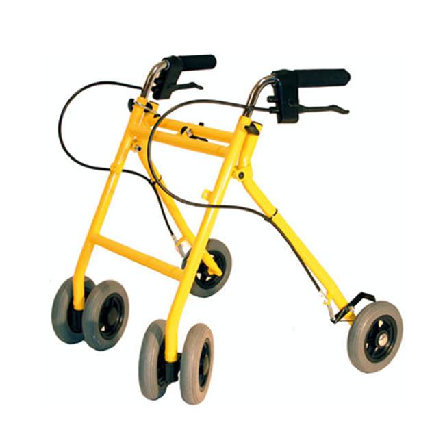 Alvema Atila with swivel front wheels and handbrake