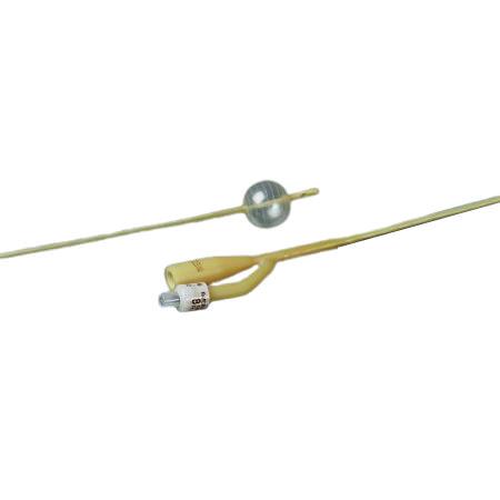 Bardex Lubricath Pediatric 2-Way Foley Catheter, Hydrogel Coated, Sterile, 10Fr 3cc Balloon