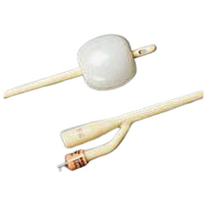 Bardex I.C. 2-Way Foley Catheter, Silver Hydrogel Coated, 26Fr, 30cc Balloon Capacity