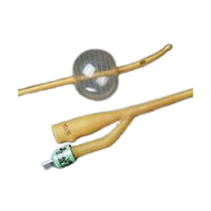 Bardex Lubricath Carson 2-Way Specialty Foley Catheter, Coude, 14Fr 5cc Balloon Capacity